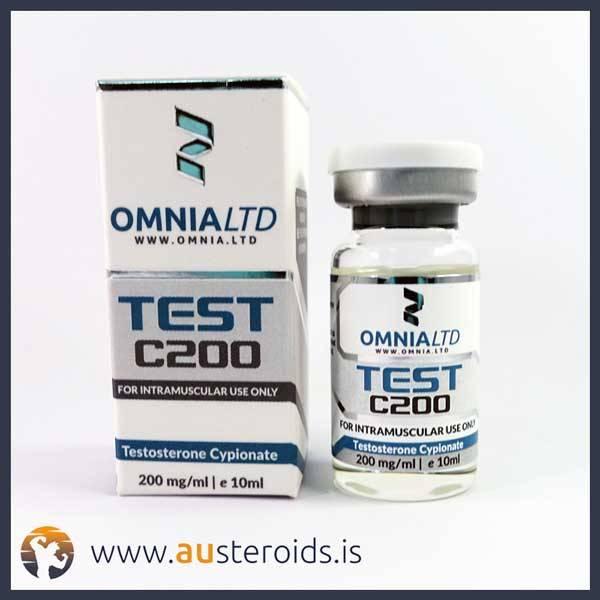 Omnia Testosterone Cypionate 200 mg/ml x 10ml (Test C) – Austeroids – Buy Steroids Australia