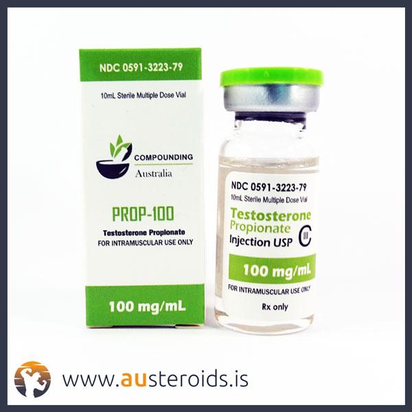 10mL Testosterone Propionate 100 mg/ml (Compounding Australia) – Austeroids – Buy Steroids